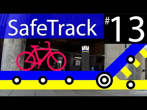 Metro SafeTrack 13 - Braddock Rd To Huntington Van Dorn St Bike Route