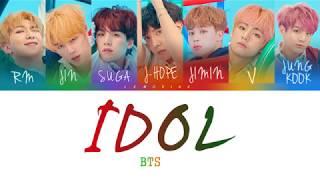 Gambar cover BTS (방탄소년단) - IDOL [Color Coded Lyrics/Han/Rom/Eng]