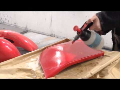 How To Wet Sand ColourSand ClearCoat, MetalFlake Paint, Glass Finish 3M
