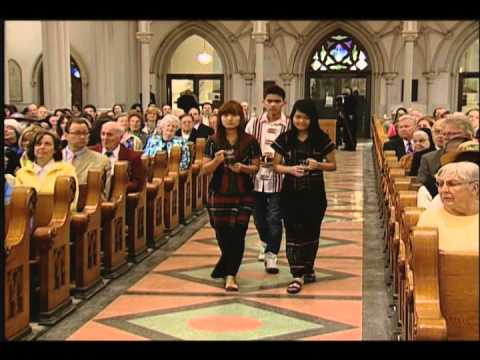 Easter Mass at St. Joseph Cathedral 2014