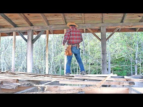 Milling & First Studs | Sawmill Shed