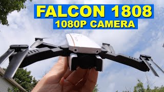 The FALCON 1808 with a 1080p camera and optical flow - Very Low Cost - Review
