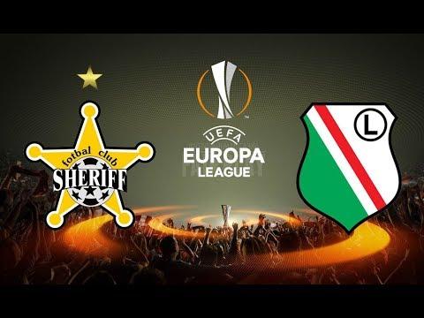 Лига Европы-2017.  Шериф - Легия . 0-0. 24.08.2017