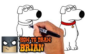 How to Draw Brian | Family Guy