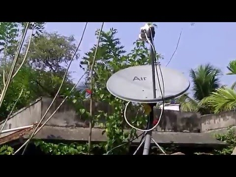 KU BAND dish with dual Lnb 70E&75E
