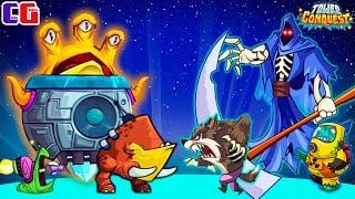 Tower Conquest АРМИЯ ЗАХВАТЧИКОВ против СМЕРТИ Мульт игра для детей про БОИ и СРАЖЕНИЯ на АРЕНЕ