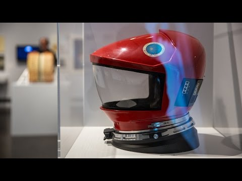 Adam Savage Visits the Stanley Kubrick Exhibition!