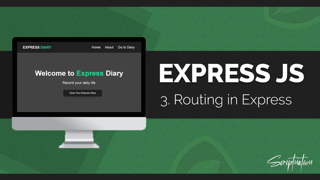 Learn Express JS by building a Project - Routing