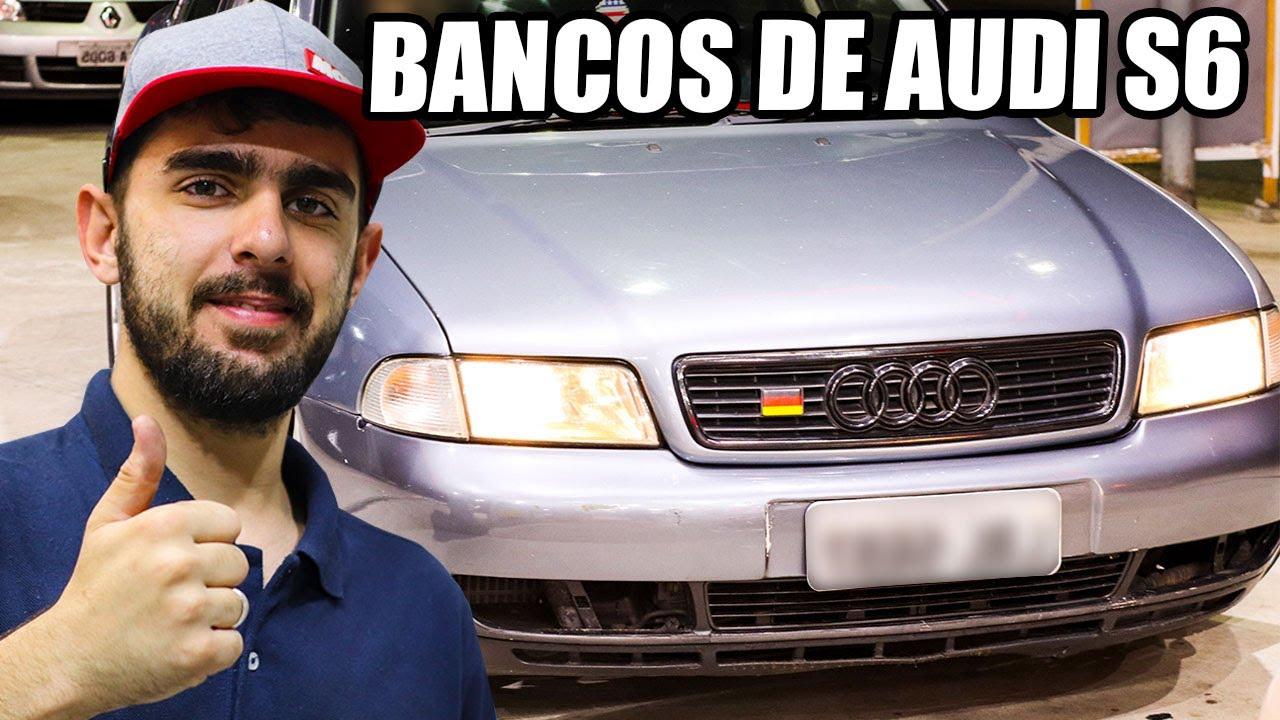 PROJECT CAR DO JAIRINHO 🔥🔥 AUDI A4 1.8 TURBO 20v - GANHOU BANCOS DE AUDI S6!!!