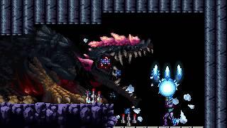AM2R vs. Metroid Queen (Fusion Mode)