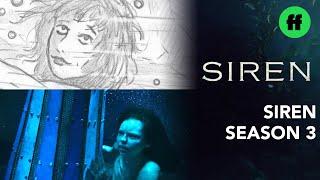 "Siren: From Storyboard to Scene | Season 3, Episode 8 ""'Til Death Do Us Part"" | Freeform"
