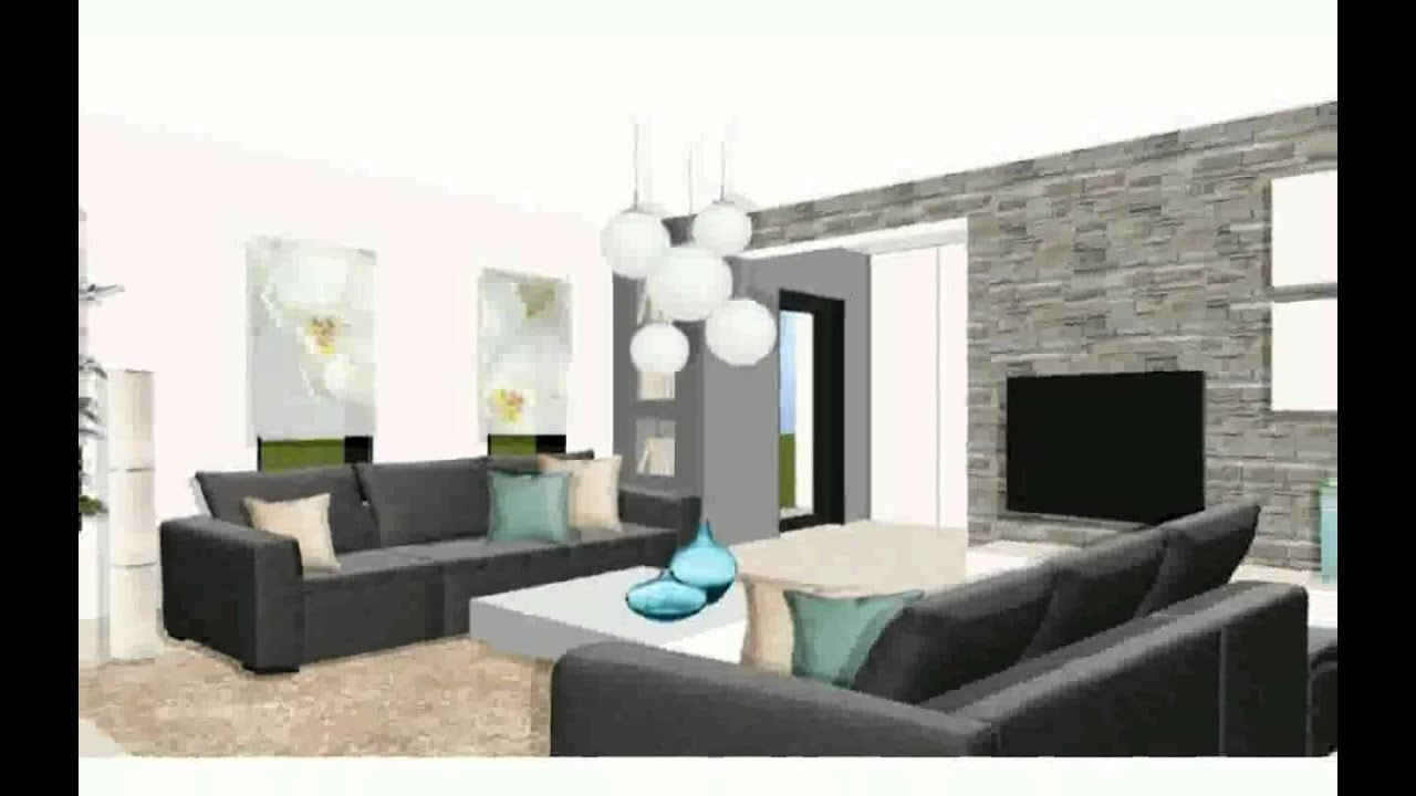 decoration int rieure contemporaine sheliraba youtube. Black Bedroom Furniture Sets. Home Design Ideas