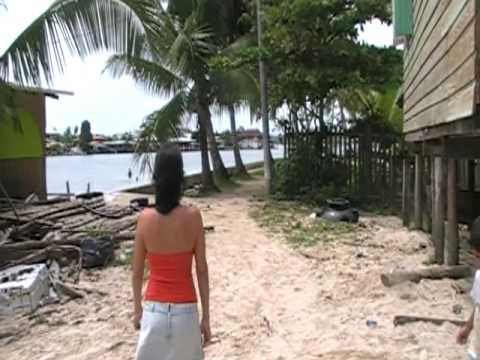 Isla Carenero, Bocas del Toro. Panama. Tropical Paradise.