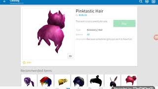 ROBLOX- HOW TO GET THE PINKTASTIC HAIR FOR FREE!!! 2018