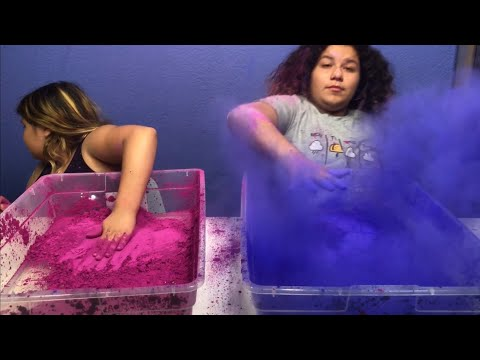 MIXING 200 GRAMS OF COLOR CHANGING PIGMENT INTO 2 GALLONS OF CLEAR SLIME