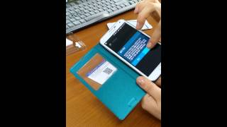 갤럭시 S5(G900) 세이프 뷰 커버 어플 다운로드 …
