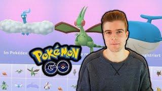 Komplette 3. Generation entwickeln (Libelldra & mehr!)   Pokémon GO Q&A #2/3