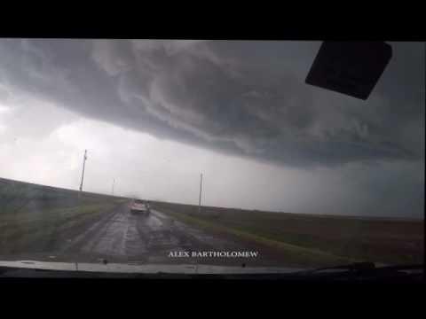 Go Pro Time Lapse of the Dodge City, Kansas Tornado.