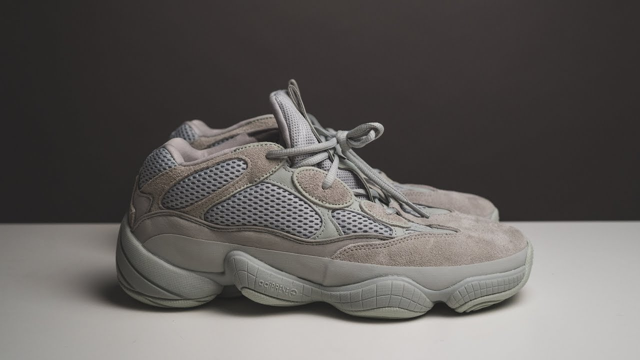 9d5152314e388 Yeezy 500 Salt - Unboxing Review On-Feet Look - YouTube