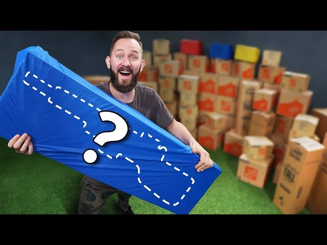 NERF 100 Mystery Box Challenge