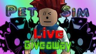 (Roblox) PetSim! DarkMatter Giveaway! //Server//Group//Giveaway// (RoadTo800)