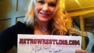 BETH PHOENIX & ADAM EDGE COPELAND RETROWRESTLING.COM VIDEO!