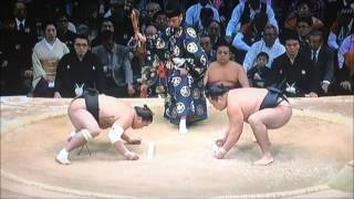 平成28年大相撲九州場所千秋楽 11月27日 満員御礼 Sumo -Kyushu Basho.