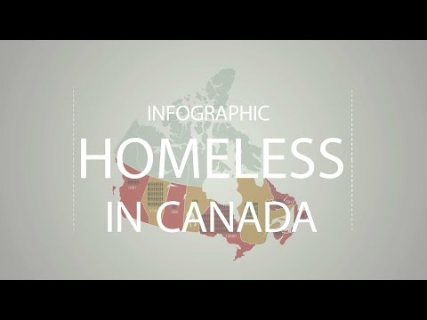 After Effects - Infographic - Homeless in Canada