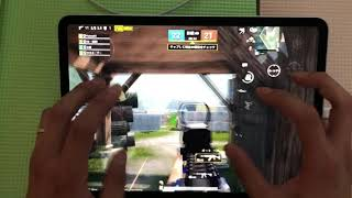 #10【TDM】FPS iPad pro 11 手元動画 『Team Death Match-PUBG Mobile 』  Play PUBG Mobile with 6fingers