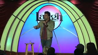 Adam Ray's hilariously awkward start to comedy show