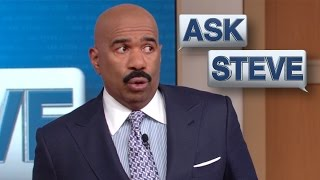 Ask Steve: Yo' momma tired of you || STEVE HARVEY