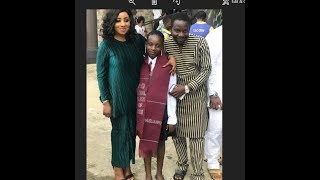 Mide Martins & Afeez Owo celebrate their 1st daughter as she graduates from secondary school