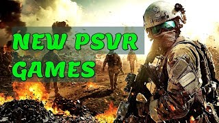 BEST NEW PS VR GAMES 2018 / Upcoming Playstation VR Games 🔥🔥🔥