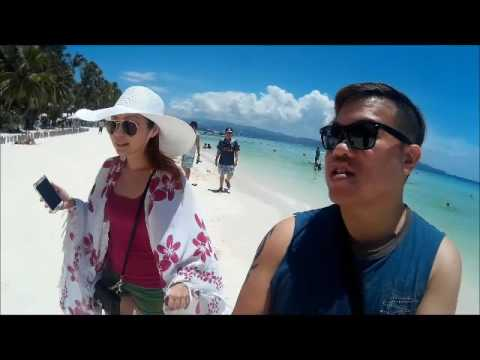 Walking along Station 1, Boracay up to Willy's Rock - April 2016