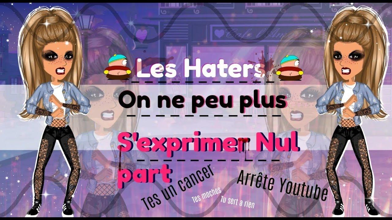 LES HATERS !!!. MOVIESTARPLANET DEVIENT DÉBILE.