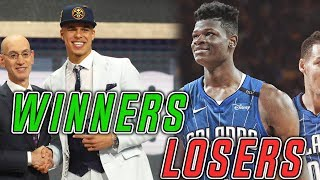 The BIGGEST WINNERS AND LOSERS Of The 2018 NBA Draft
