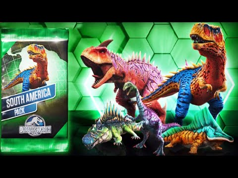 Jurassic World The Game - Dinosaurs Days Of South America!