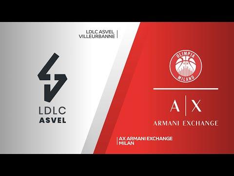 LC ASVEL Villeurbanne-AX Armani Exchange Milan Highlights | Turkish Airlines EuroLeague, RS Round 24