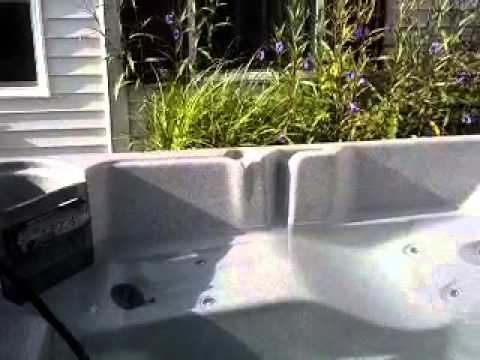 How to empty a hot tub fast!!