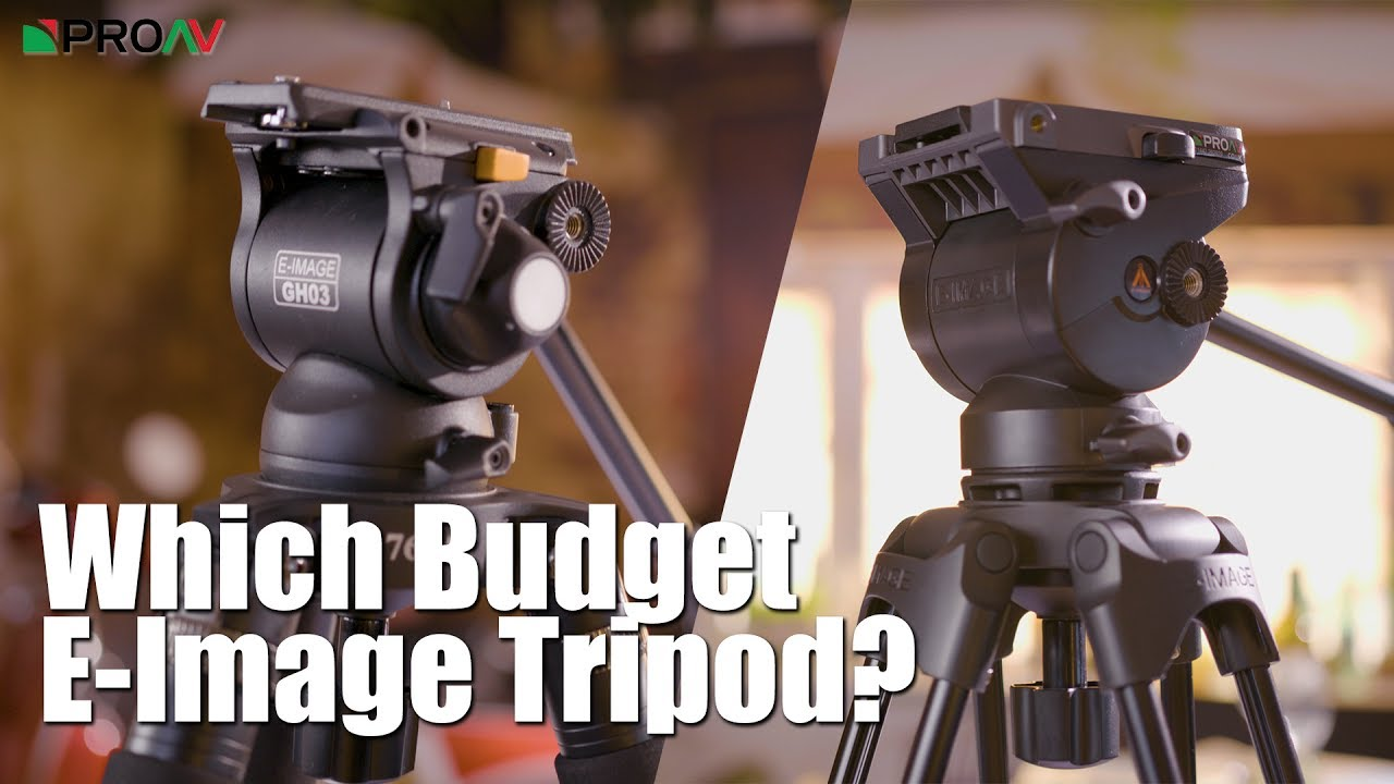 Which Budget E Image Tripod Eg04 Or Gh03 With Solo Legs Youtube