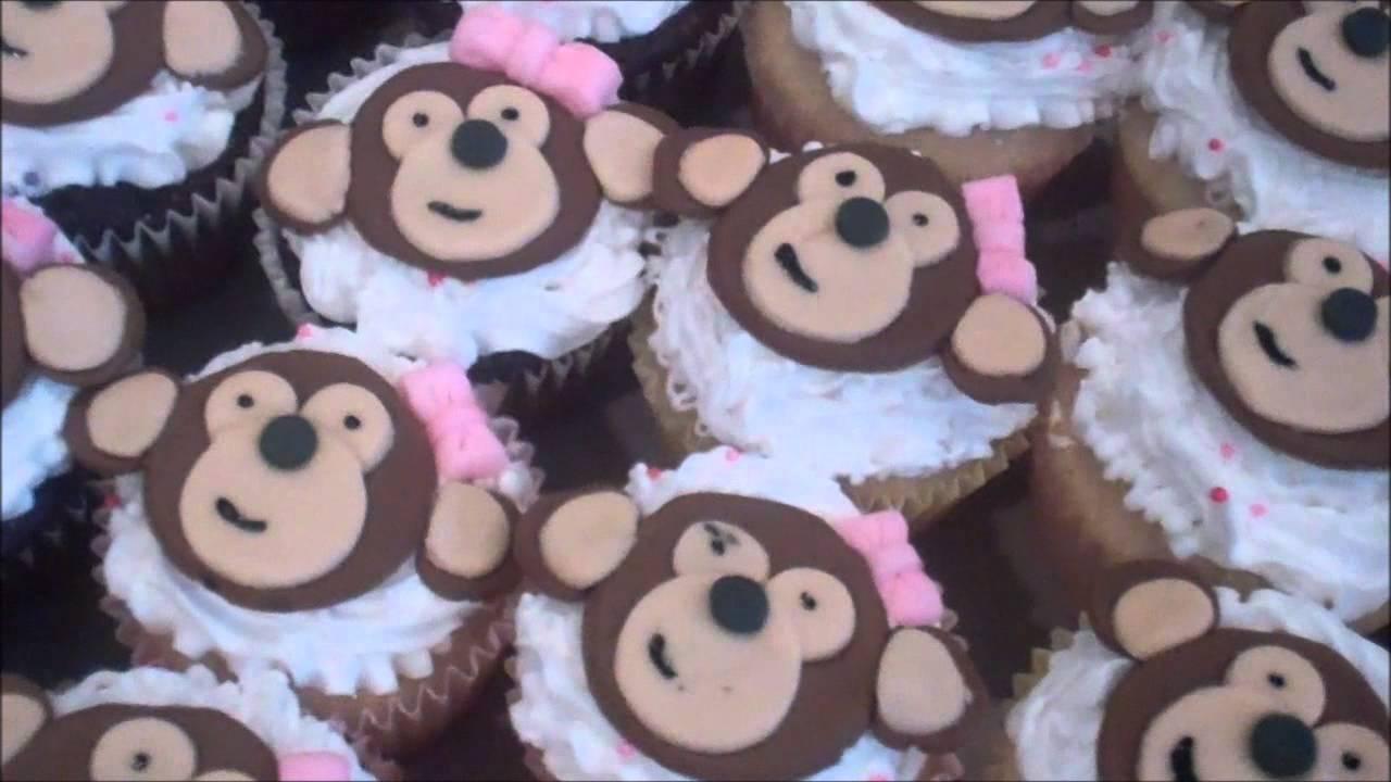 Baby Shower Monkey Cake Youtube