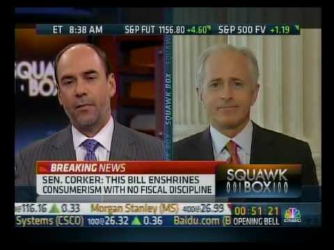 Corker Discusses Underwriting Standards Amendment