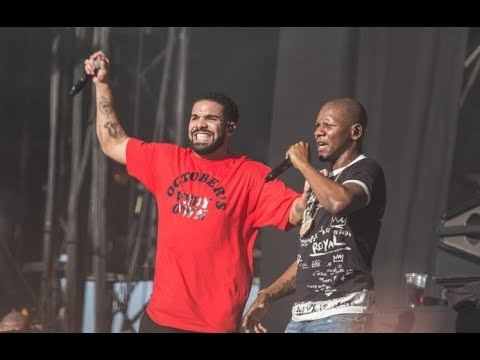 Drake ft Giggs - KMT - Reading Festival 2017