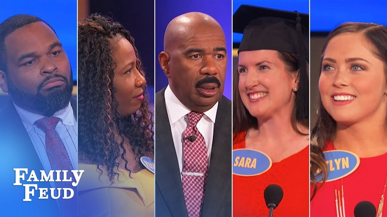 Family Feud's BEST BLOOPERS and EPIC FAILS!!! | Part 13