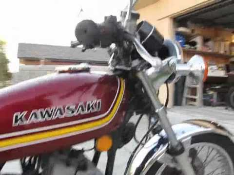 Kawasaki KH250 1976