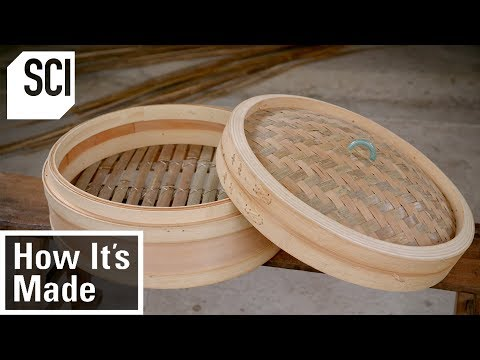 How Bamboo Steamer Baskets Are Made | How It's Made