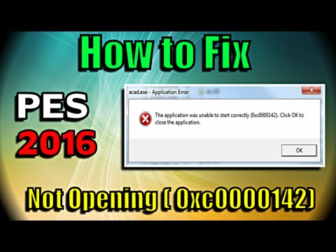 [PES 2016] How to fix Application not starting ( error 0xc0000142 )