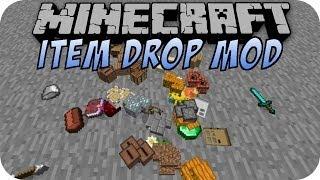 Minecraft ITEM DROP PHYSICS MOD [Deutsch]