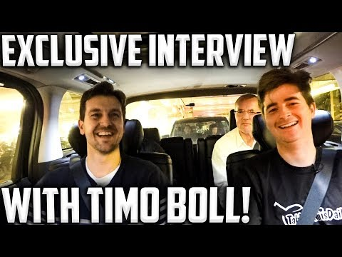 T2 Ambush #1 | Timo Boll Exclusive Car interview With TableTennisDaily!