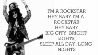 Rihanna ft. Slash - Rockstar 101 (Lyrics)